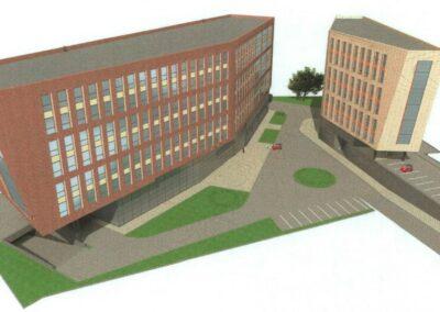 Офисный комплекс по ул. Шумкина 14