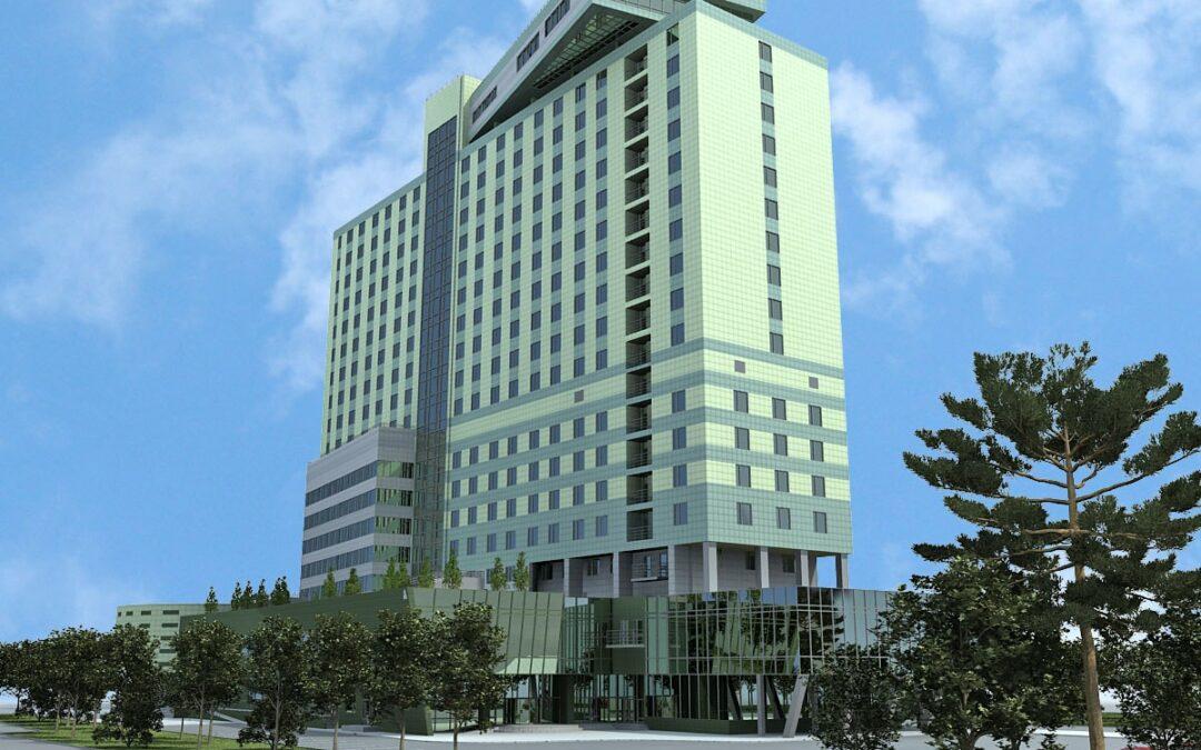 Гостиничный офисно-развлекательный комплекс «Милан»
